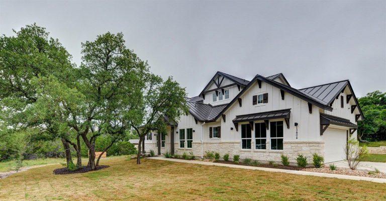 Custom Exterior Home Designs Austin Hays County Tx Palladian Residential Llc