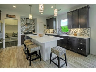 custom kitchen floor plan austin tx