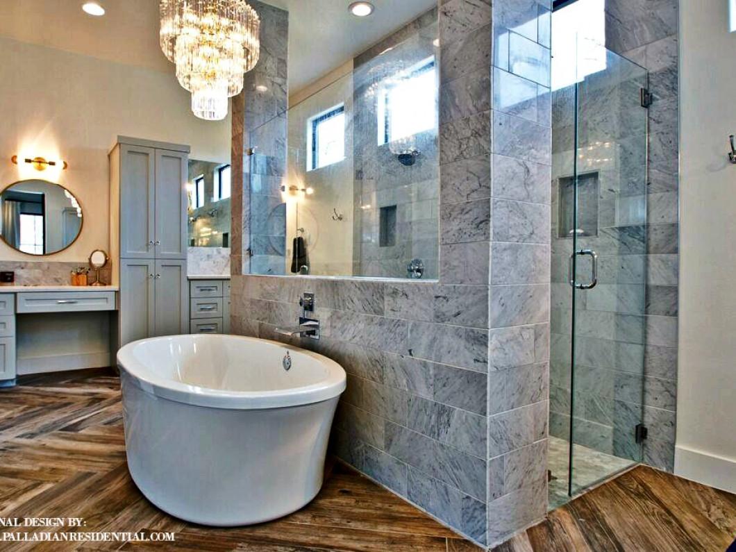 Custom Bathroom Custom Floor Plans Designs Austin Tx Palladian Residential Llc