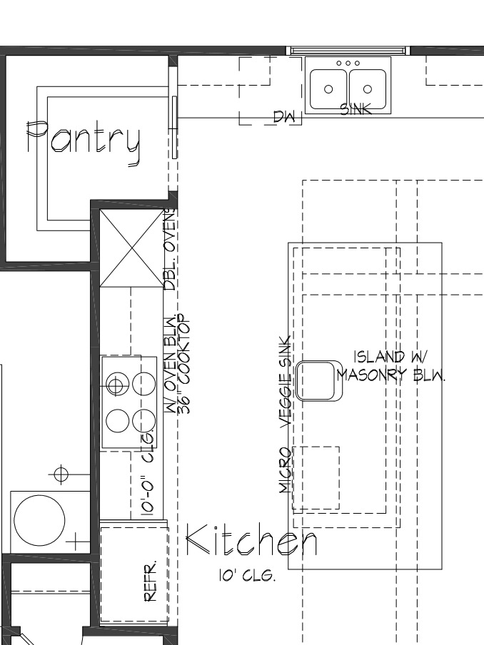 kitchen floor plans custom kitchen floor plans tx palladian 1664